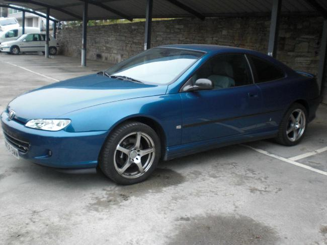 Peugeot 406 COUPE 2.0 HDI 136 '01