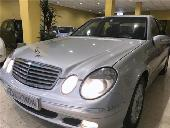Mercedes E 270 Cdi/nacional/clima/llantas/libro/automatico