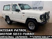 Nissan Patrol Corto Turbo D. 6 Cil. Motor Japones Sd33 Impecable
