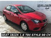 Seat Ibiza 1.6tdi Cr Style 90