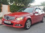 Mercedes C 200 cdi Avantgarde*Tapicería mixta gris*GPS*
