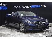 Mercedes E 250 E 250d Bluetec Cabrio   Faros Led   Navegaciã³n