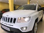 Jeep Compass 2.2crd Limited 163cv/nac/cuero/ll 18