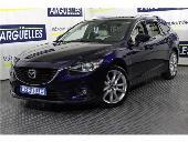 Mazda 6 2.2d 150cv Aut Luxury + Pack Premium Tope De Gama