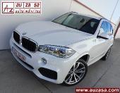 BMW X5 3.0d X-Drive AUT 258cv -PACK M + TECHO + SUSP.NEUMÁTICA