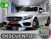 Mercedes C 220 Coupé D 9g-tronic Amg Line Techo Panoramico