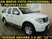Nissan Navara 2.5dci Le Dcb. 4x4