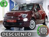 Fiat 500 1.2 Lounge 69cv  Pantalla Tft A Color De 7