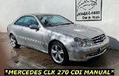 Mercedes Clk Clase Clk 270cdi