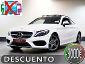 Mercedes C 220 Coupé D 9g-tronic 170cv Amg Line Techo Panorami