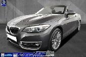 BMW 218 218ia Cabrio Luxury Led/navi/leder/p-assi/lhz/17
